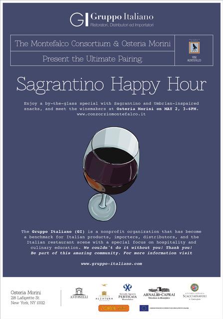 5.02.18 /The Ultimate Pairing Sagrantino Happy Hour