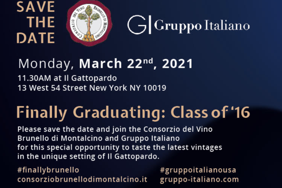 Event Save the Date - Finally Graduating