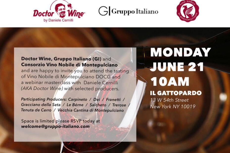 Gruppo Italiano and Doctor Wine